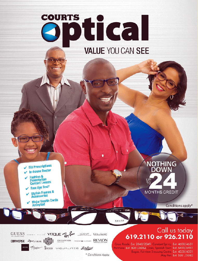 A B Vision Eye Care Centre flyer