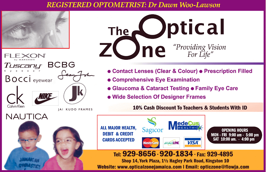 The Optical Zone flyer