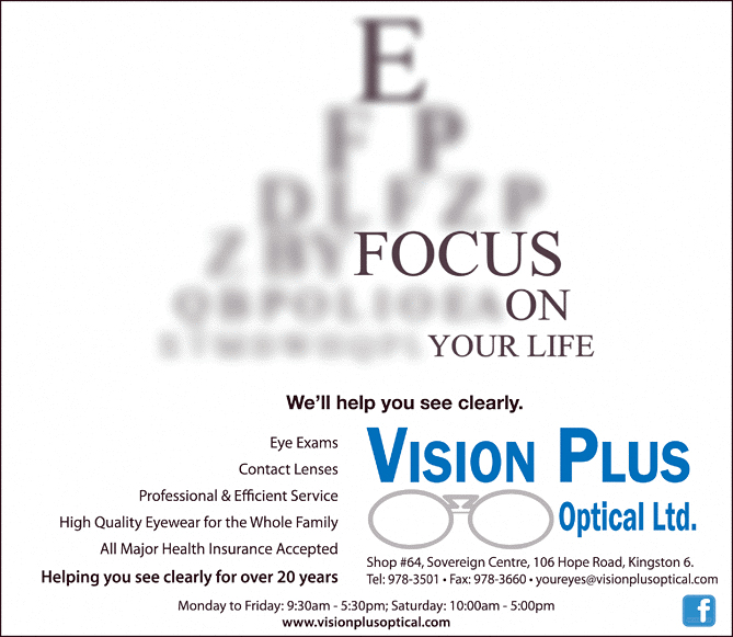Vision Plus Optical Limited