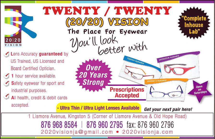 Twenty Twenty (20-20) Vision