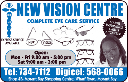 New Vision Centre flyer